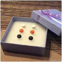 Shipped to London, United Kingdom!  https://www.etsy.com/listing/159362902/any-3-pairs-9mm-matte-stud-earrings  #matte #white #orange #black #studearrings #earrings #earstuds #biesge #etsy #shopping #men #women #unisex #london #unitedkingdom #love #instacool #instagood #instalike #pics #photo #bestoftheday #accessories #jewelry