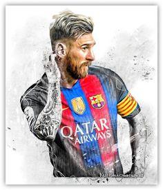 Resultado de imagen para dibujos fan art del fc barcelona