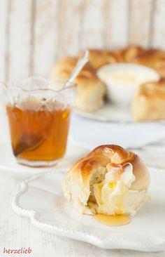 Ein Brotkranz ist pure Liebe auf dem Frühstückstisch!