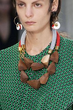 Absolutely adore the combination of textures... Marni Imaxtree  - HarpersBAZAAR.com