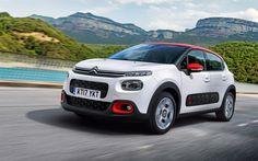 Download wallpapers Citroen C3 Aircross, 2018 cars, crossovers, new C3, french cars, Citroen