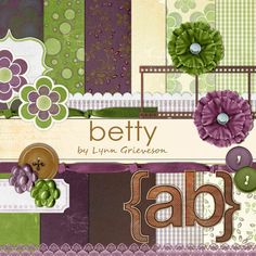 Betty Kit - Digital Scrapbooking Kits DesignerDigitals