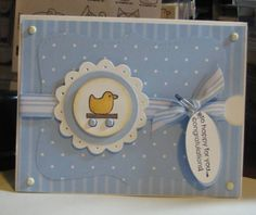 Goody Goody Baby by stamplaura - Cards and Paper Crafts at Splitcoaststampers