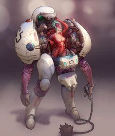 Sci fi and fantasy art erotic - new images at DuckDuckGo Arte Sci Fi, Sci Fi Art, Character Concept, Character Art, Concept Art, Science Fiction, Fantasy Anime, Fantasy Art, Mekka