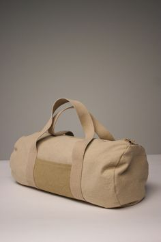 MadRad - Classic Duffle - Cotton Canvas & Natural Dye