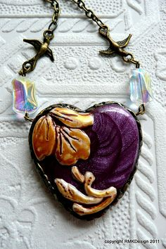 Amethyst Heart | Flickr - Photo Sharing!