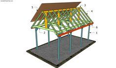 Building a garden pavilion
