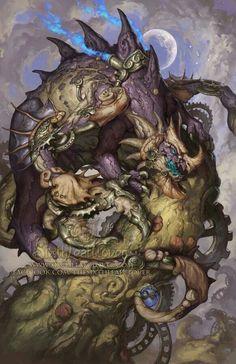 este o dragão de câncer no segundo decanato influencia em leão