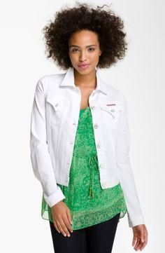 Hudson Jeans Denim Jacket (White) by nordstrom