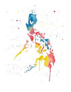 5x7 Philippines Love by poppyandpinecone on Etsy