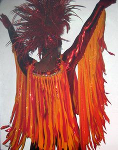 Phoenix costume by Marquis DeSign, headpiece by Cyon by marquismark, via Flickr