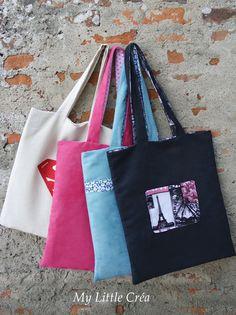 Tote Bag doublé #tuto #couturefacile