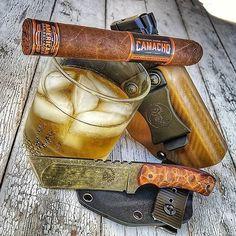 by @pete_k21 #Cigarsandguns #Cigars #Guns #puffpuffpewpew