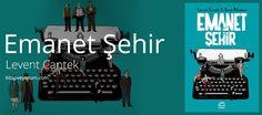 Emanet Şehir, Levent Cantek'in Ankara üçlemesinin bir diğer kitabı. Her zaman ki gibi yine olaylarımız Ankara'da geçmekte... Emanet Şehir - Levent Cantek