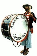 "The Ancient Mariners, Connecticut, Fife & Drum Corps, founded July 4, 1959 by Roy Watrous.  My brother was pulled into the ""show"" one year at the Deep River Muster and thrown into the Town Hall fountain (since gone - I believe) It's been many, many years since as this was back in the 70's but they always have been a favorite of mine at the Muster!! Too bad I'm now in WV and miss these spectacular performers!"
