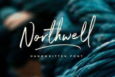 Northwell Font - Script, typography, design Creative Market #affiliate
