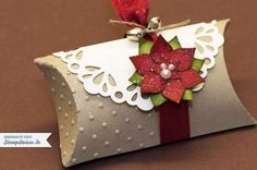 Christmas Gift Ideas Using A Single Mold- PILLOW BOXES