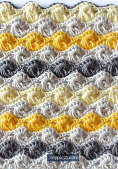 Most up-to-date No Cost Crochet stitches unique Strategies Crochet Textured Long Loop Stitch – Free Pattern & Tutorial Picot Crochet, Crochet Stitches Free, Stitch Crochet, Afghan Crochet Patterns, Crochet Squares, Crochet Motif, Knitting Stitches, Crochet Designs, Free Crochet