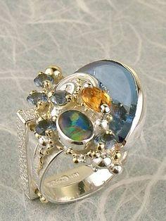 Grzegorz Pyra Piro Biżuteria Autorska Unikatowa Pierścień Nr. 5731