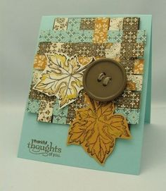 Made with Stampin' Up ! products. / card ideas - Juxtapost