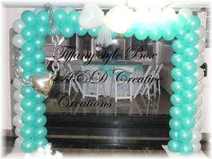 Decoration, Tiffany, Theme, Backdrop, Balloons, Ad creative creations