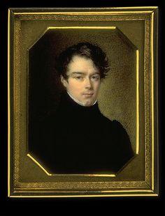 Gentleman in Black, c.1820