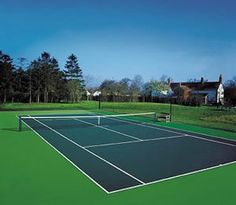tennis court in my backyard- YES...a must!  I want to purple court with green around like they have in Key Biscayne!
