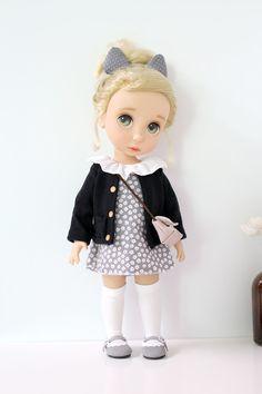 디즈니 베이비돌 옷 가게 - 쁘앙원피스 4종 : 마미쏘잉 베이비돌옷가게