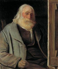 Anna Ancher: Vilhelm Kyhn. 1903