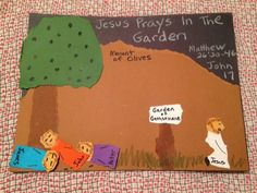 Matthew 26:30-46. Learning about Jesus praying fervently in the Garden of Gethsemane tonight on the blog. Easy, inexpensive, and unique children's Bible lessons. Free to all! Take a look and share!