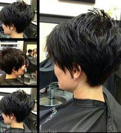 short dark hair picture