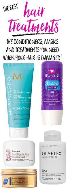 #ad The best hair masks and treatments for dry, damaged and fried hair! Saving for later!