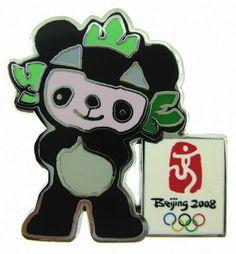 2008 Beijing Olympic Games Mascot FUWA JINGJING Pin
