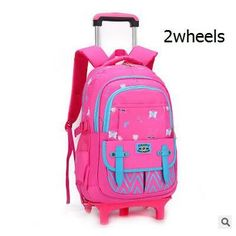 d7aaeaaefa kids Rolling Backpack for School Kids Trolley School Bag for Girl Trolley  Wheeled Backpack Travel trolley luggage bags On wheels