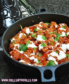 Spicy Tagine meatballs