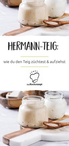 Hermann dough: the comeback for delicious bread and .- Hermann-Teig: das Comeback für leckere Brot- und… Sharing it has been fun for years: Hermann-Teig has … - B Food, Good Food, Bread Baking, Pain, Baking Recipes, Delish, Food And Drink, Tasty, Snacks