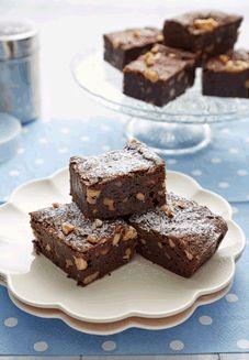 Gluten Free Choc Walnut Brownies