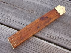 Stanley Folding ruler #61 by AppalachianAxeworks on Etsy