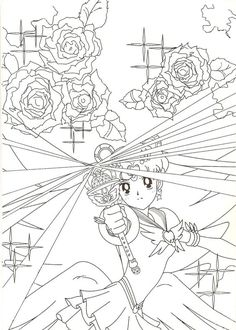 Eternal Sailor Moon Coloring Page
