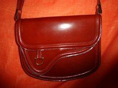 Vintage Handtaschen - Tasche*Vintage*Leder*rot*Braun*rost* - ein Designerstück von SweetSweetVintage bei DaWanda