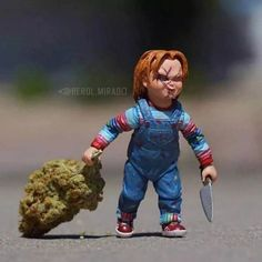 This is some funny shit. I picture this as me leaving the dispensary lol Childs Play Chucky, Wake And Bake, Puff And Pass, Smoking Weed, Some Girls, Kids Playing, Poster, Instagram, Ganja