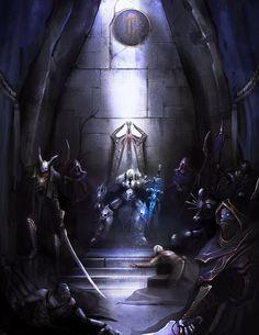 World Of Warcraft - Arthas, The One True King by theDURRRRIAN.deviantart.com on @deviantART
