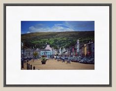 Set of four prints of Bantry Co Cork Ireland St Brendan, Pictures For Sale, West Cork, Cork Ireland, Coastal, America, Illustration, Prints, Painting