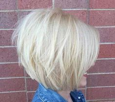 15.Short Bob Hairstyle For Women