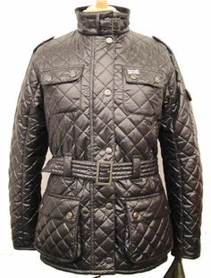 Hunter Outdoor Womens Chelsea Jacket - Black 100 POLYIMIDE QUILTED OUTER WITH A 100 POLYESTER FLEECE LINER LIGHT WEIGHT MULTI POCKETED FULLY TAILORED