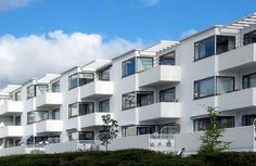 Bellavista - Estate housing  by Arne Jacobsen