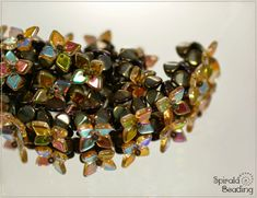 Spirala beading: Fortune Bracelet