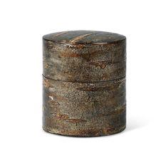 Yuko Teedose Kirschbaumrinde klein Amazon Echo, Timber Wood