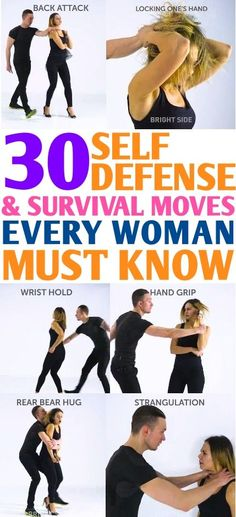 You must learn these 30 self defense moves and survival hacks to save yourself a. You must learn these 30 self defense moves and survival hacks to save yourself at dangerous situations! I'm so happy I learned these. Self Defense Moves, Self Defense Techniques, Self Defense Weapons, Best Self Defense, Self Defense For Women, Self Defense Martial Arts, Krav Maga, Survival Skills, Survival Hacks