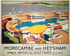 Morecambe and Heysham Swimming Pool - spent a lot of time in this olympic size pool as a kid